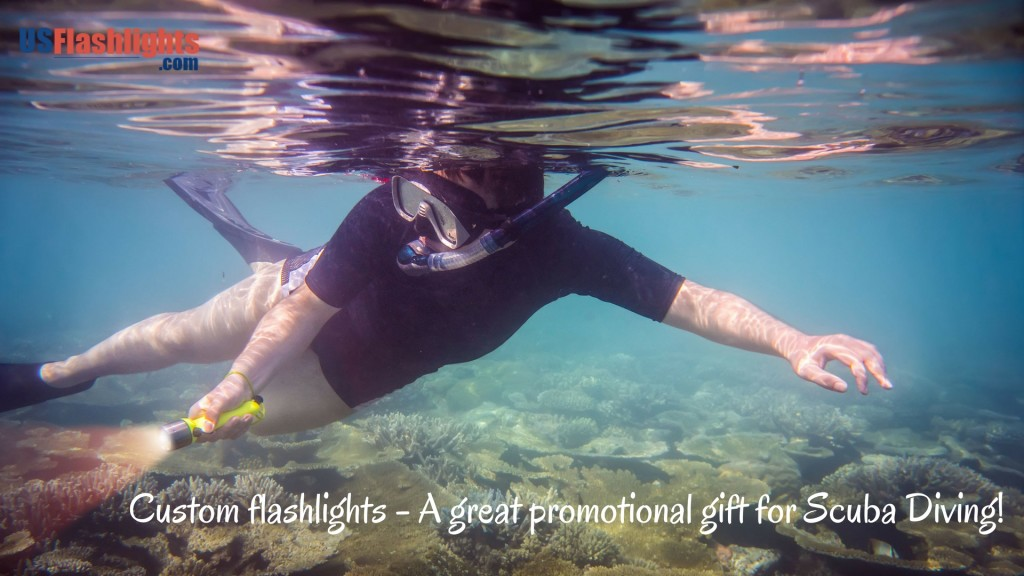 custom-flashlights-promotionalGifts-scubaDiving