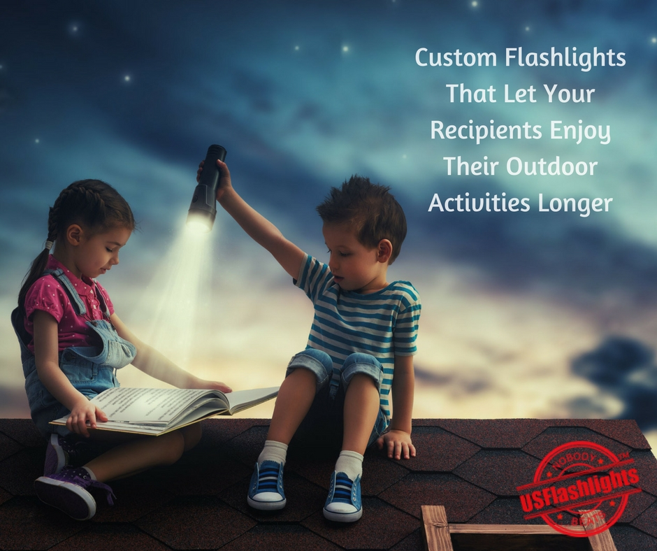 Custom Flashlights That Let Your Recipients Enjoy Their Outdoor Activities Longer