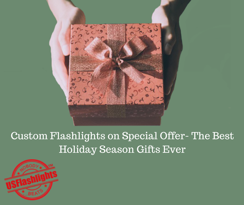 Custom Flashlights on Special Offer- The Best Holiday Season Gifts Ever