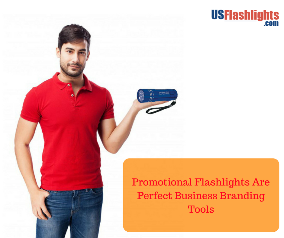 Promotional Flashlights Are Perfect Business Branding Tools