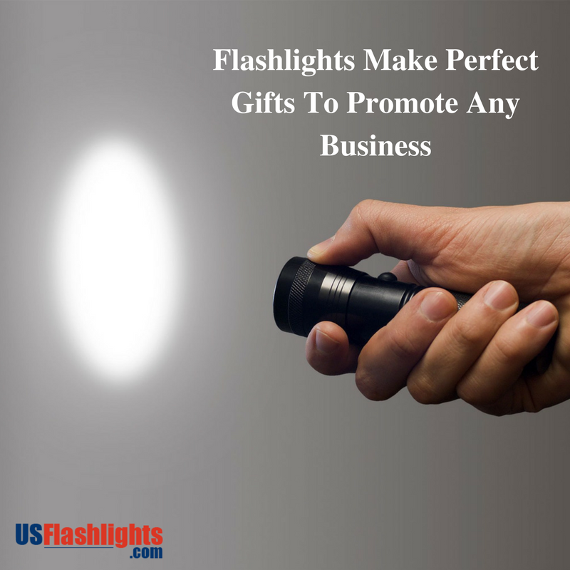 Flashlights Make Perfect Gifts To Promote Any Business