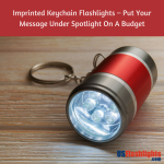 Imprinted Keychain Flashlights – Put Your Message Under Spotlight On A Budget