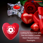 Looking For Valentine Gifts That Are Useful? Consider Heart Shaped Custom Flashlights