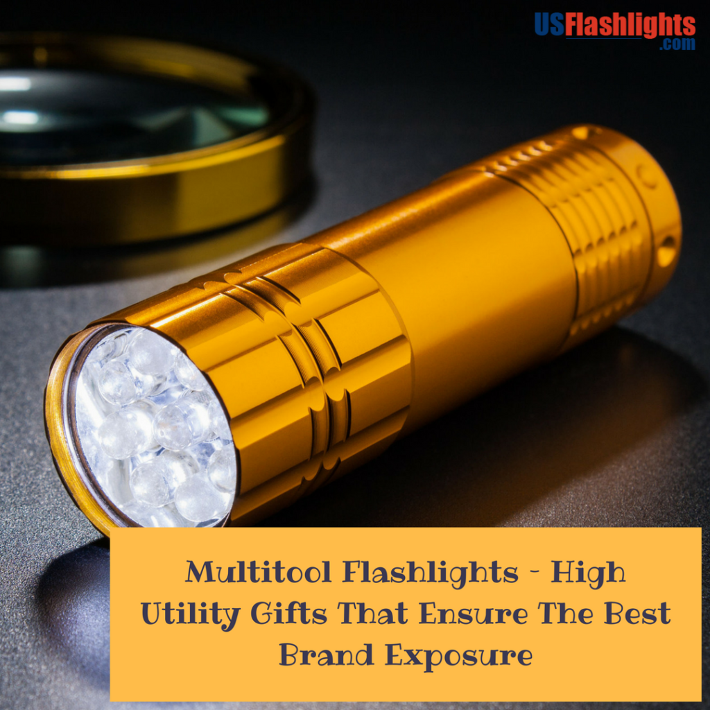 Multitool Flashlights – High Utility Gifts That Ensure The Best Brand Exposure